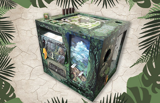 INDESTROOM ESCAPE ROOMS CONSTRUCTION COMPANY PORTABLE ESCAPE GAME JUNGLE