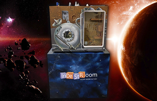 INDESTROOM ESCAPE ROOMS CONSTRUCTION COMPANY PORTABLE ESCAPE GAME MARS MISSION