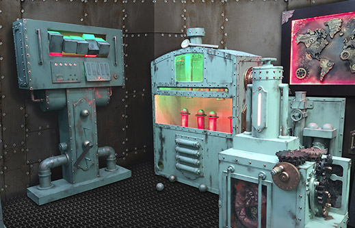 INDESTROOM ESCAPE ROOMS CONSTRUCTION COMPANY ESCAPE ROOM STEAM PUNK SUBMARINE