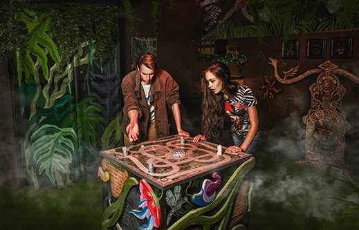 INDESTROOM ESCAPE ROOMS CONSTRUCTION COMPANY JUNGLE